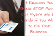 3 Reasons You Should STOP Passing Out Flyers and Cards If You Want to 10X Your Business